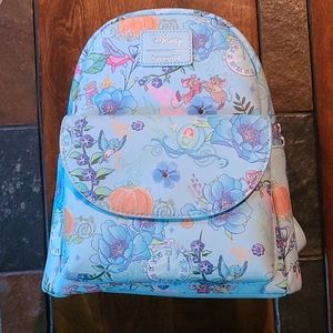 Loungefly cinderella floral mini backpack